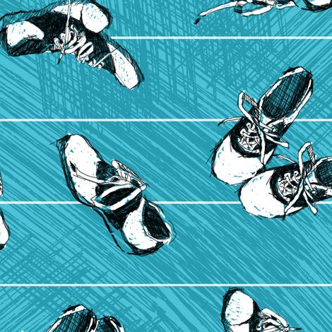Saddle Shoe Dance! fabric by southwind on Spoonflower - custom fabric