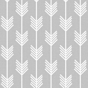 Arrow Stripe - Gray textured