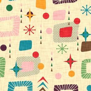 1950s atomic pattern