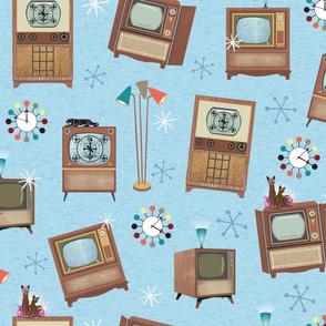 1950s TV Sets Angled
