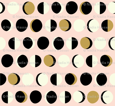 Mod Moons Blush Large Scale