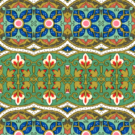 arabesque 165 fabric by hypersphere on Spoonflower - custom fabric