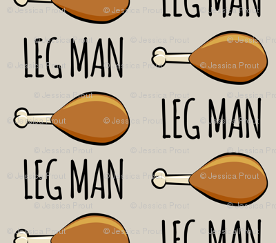 turkey legs - Leg man- beige