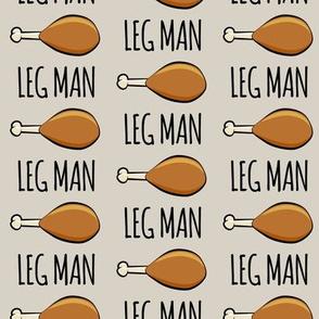 turkey legs - Leg man- beige