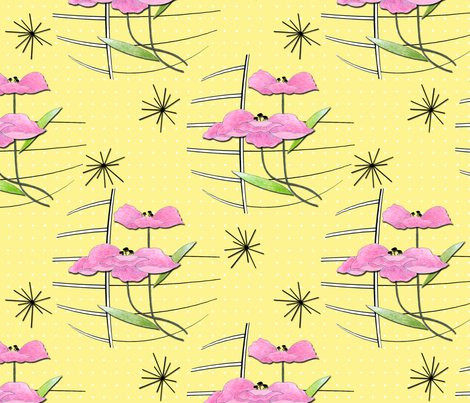 Vintage_poppies_on_yellow_shop_preview