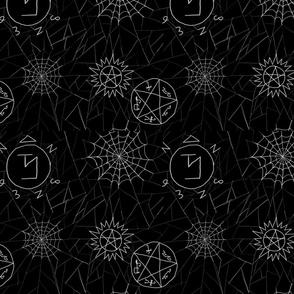 Supernatural spiderwebs