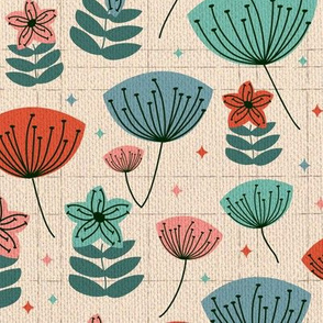 1950s Floral