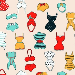 Colorful Swimsuits