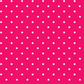 Polkadot Hot Pink