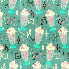 Retro 50s Milkshakes - small print