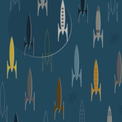 Space Age Rockets
