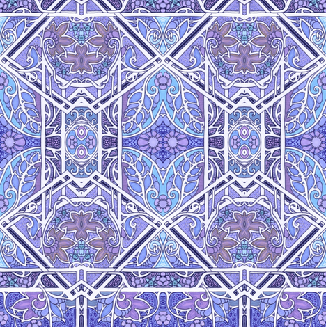 Moderne Blues fabric by edsel2084 on Spoonflower - custom fabric