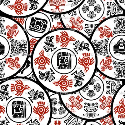 Native American Symbols Mandalas