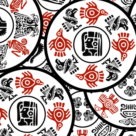 Native American Symbols Mandalas fabric by fabric_is_my_name on Spoonflower - custom fabric