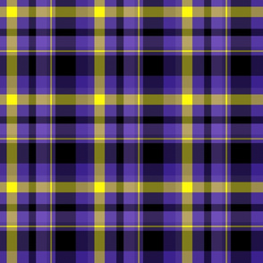 halloween moonlight plaid