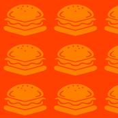 Square burgers