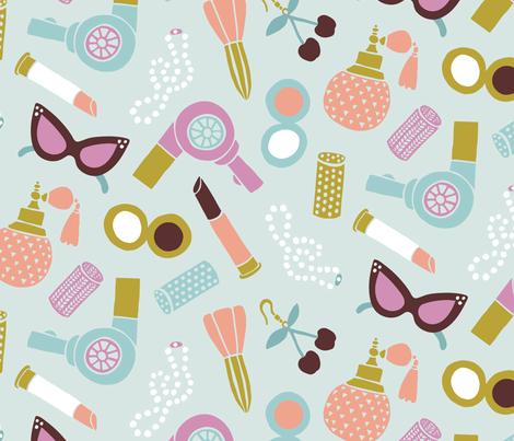 Rockabilly Look fabric by tishyaoedit on Spoonflower - custom fabric