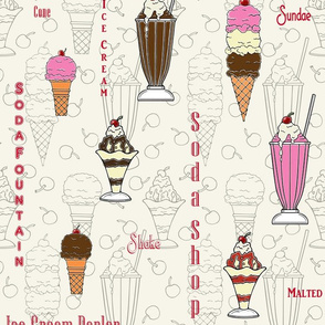 50's Ice Cream Dreams