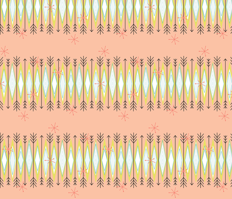 vintage vibes3 fabric by dempsey on Spoonflower - custom fabric