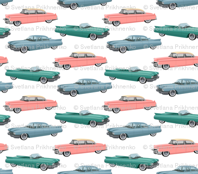 Retro cars (large scale)