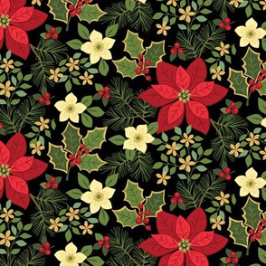 Poinsettia Holly