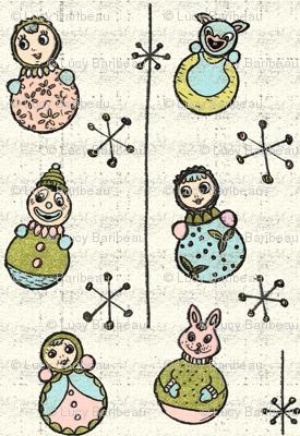 50s culbuto toys