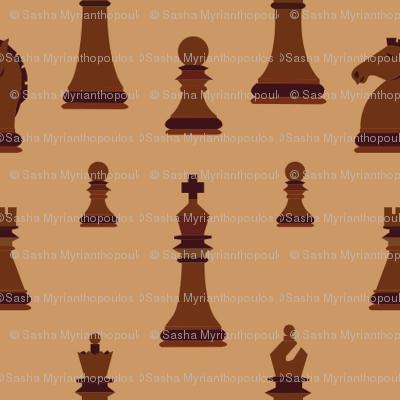 Dark Chess Pieces