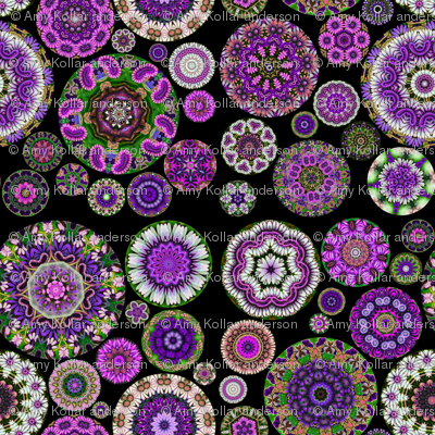 Boho Blooms Vivid Violet