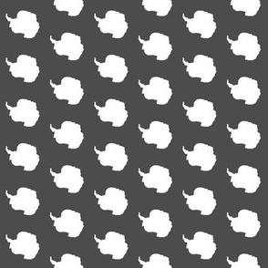 antarctica polka dot