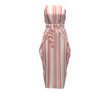 Candy floss stripe