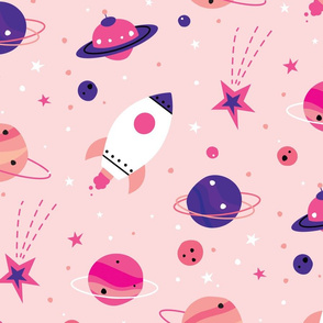 Space Adventure - pink