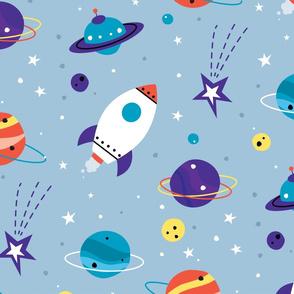 Space Adventure - blue