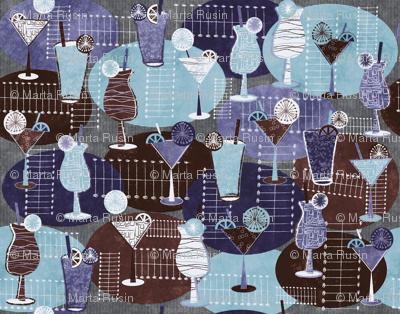 1950s-cocktails blue