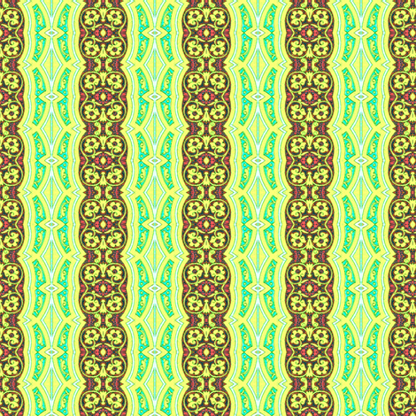 arabesque 169 fabric by hypersphere on Spoonflower - custom fabric