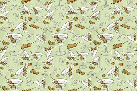 Three Olives fabric by nikkimay on Spoonflower - custom fabric