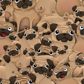 A Pile of Pugs