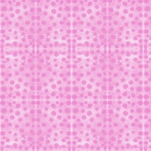 Squishy Pink Dots on Mottled Pink