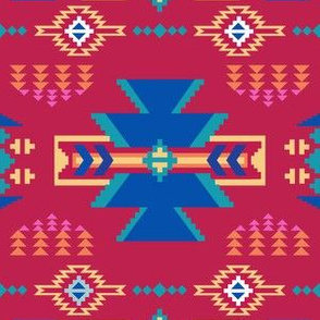 Aztec Southwestern Red