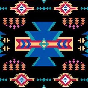 Aztec Southwestern Black