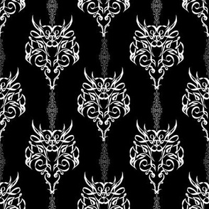 StacyCK Studio - Ribbon Flourish - The dragon