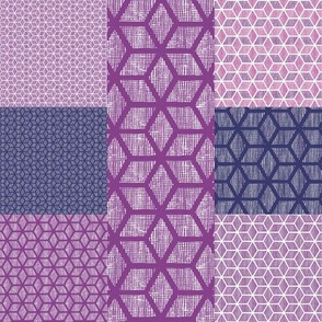 Japanese style patchwork