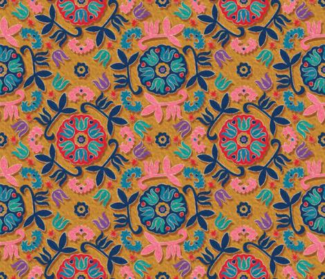 Mandalas Ouzbek-03 fabric by leventetladiscorde on Spoonflower - custom fabric