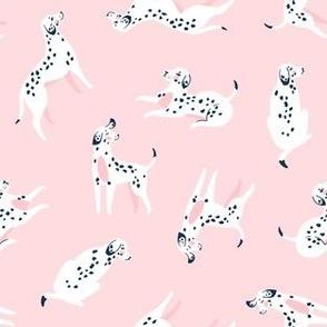 Funny dalmatian (pink)