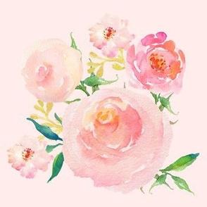 "7"" Dream Big Roses Blush"