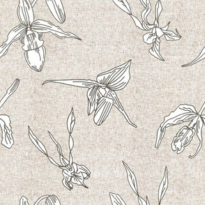 ORCHID LINEN RUSTIC