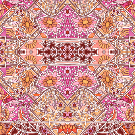17152169f2 https://www.spoonflower.com/fabric/8354704-multi-colored-cartoon ...