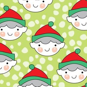 elf-faces-with-snowball dots