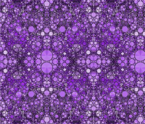Time Slips Away in Purple fabric by elramsay on Spoonflower - custom fabric