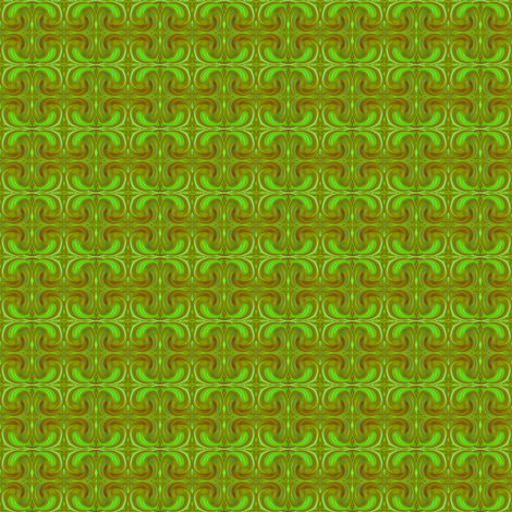 CD1 - Tiny  Cosmic Dance in Lime Green, Olive Green and Rust fabric by maryyx on Spoonflower - custom fabric