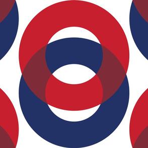 Phish Fishman Optical Donut Red Circle Pattern